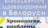 Реформа внебюджетного здравоохранения в Беларуси